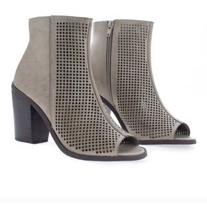 Grey Booties size 7.5